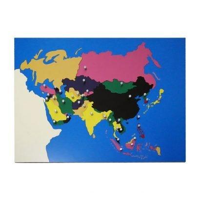 Rompecabezas de Asia