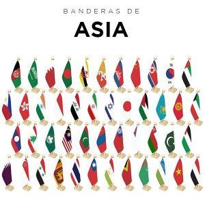 Banderas de Asia