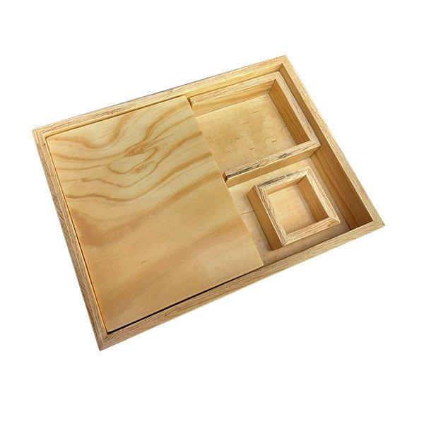 Caja para pegar Montessori