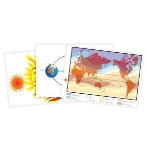 Cartelones de geografía Montessori