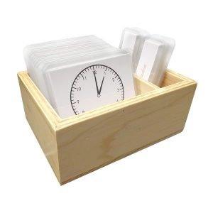 Ejercicios del reloj Montessori