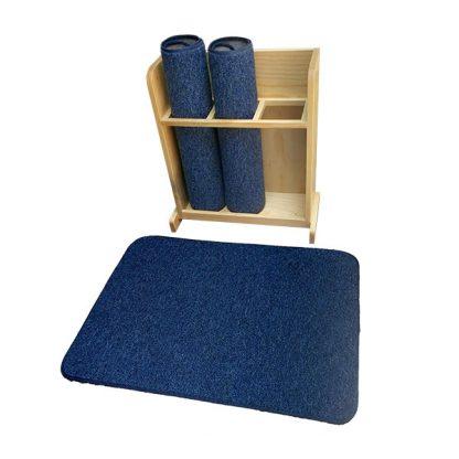 Mueble con 3 tapetes Montessori