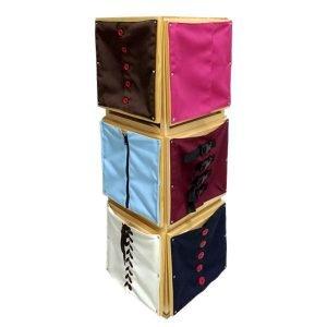 Mueble para marcos de vestir