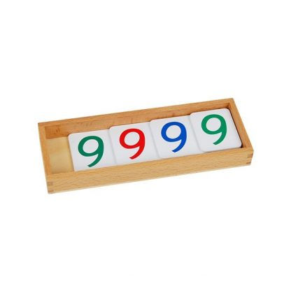 Números de banco chicos del sistema decimal