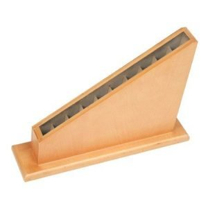Rack para barras o astas grandes Montessori