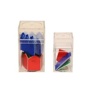 Flechas del 100 y del 1000 Montessori