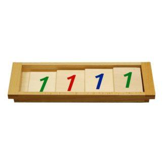 Tarjetas de introducción al sistema decimal