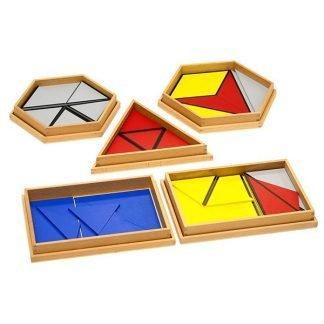 Triángulos constructores - Montessori Educativos